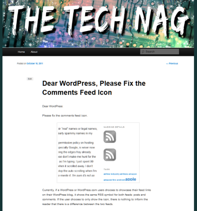 No sidebar on single post pageview in WordPress 2011 Theme
