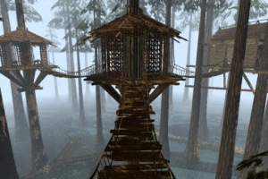 Myst game - the swamp