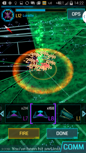 Ingress, the destruction of portal resonators.